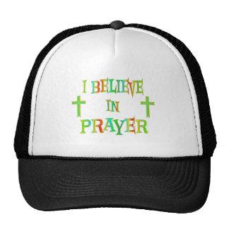 Believe in Prayer Trucker Hat