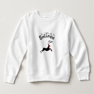 Believe in Reindeer Toddler Top