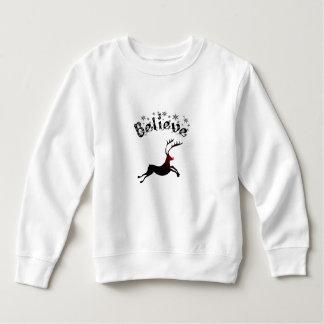 Believe in Reindeer Toddler Top T-shirt