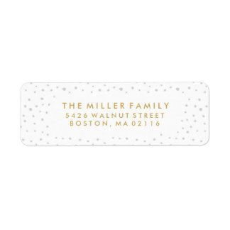 Believe In The Magic | Holiday Labels in White