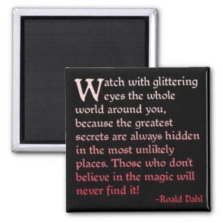 Believe in the Magic Fridge Magnets