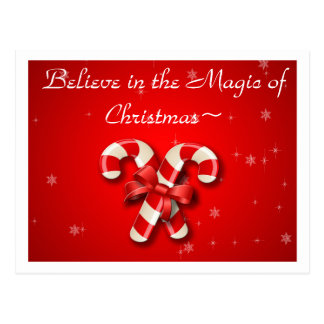 Believe in the Magic of Christmas Inmate Post Card