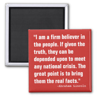 Believe in The People Magnet