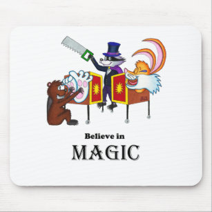 Believe in Tickle Magic Mouse Pad