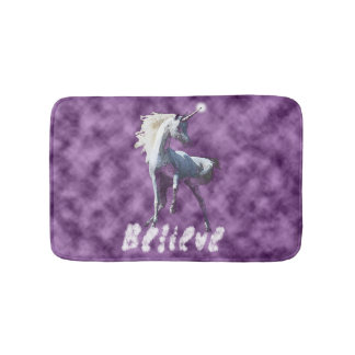 Believe in Unicorns Bath Mat Bath Mats