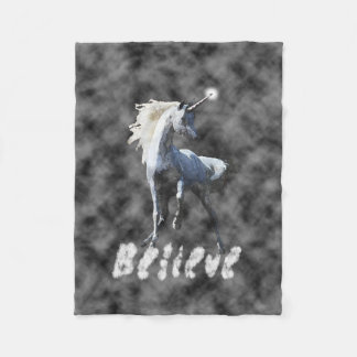 Believe in Unicorns Blanket style 2
