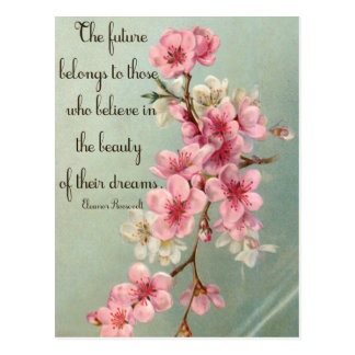 Believe in your Dreams Eleanor Roosevelt Postcard