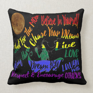 Believe in yourself Dream love big pillow