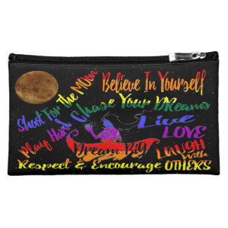 Believe in yourself Dream love cosmetic bag
