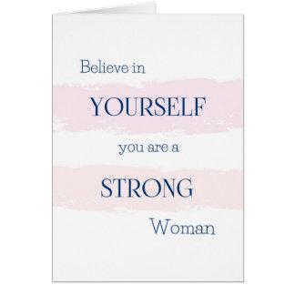 Believe in Yourself Encouragement Card