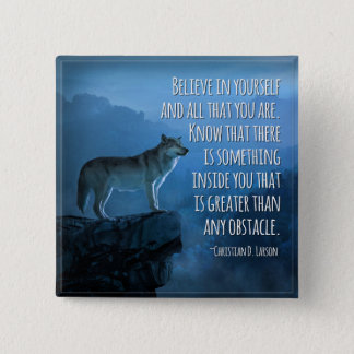 Believe in Yourself Pin