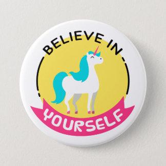 'Believe in Yourself' Unicorn Badge