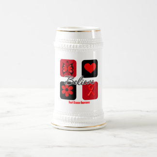 Believe Inspirations Heart Disease Coffee Mug