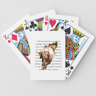 BELIEVE INTO IMAGINATION BICYCLE PLAYING CARDS