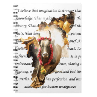 BELIEVE INTO IMAGINATION NOTEBOOK