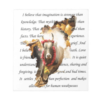 BELIEVE INTO IMAGINATION NOTEPAD