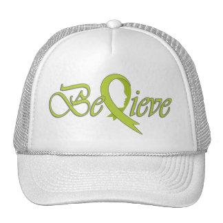 Believe (Lime Ribbon-Trucker) Cap