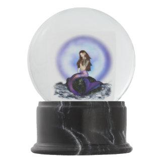 Believe Mermaid Snowglobe