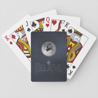 Believe-Nocturnal Flying Pig Playing Cards