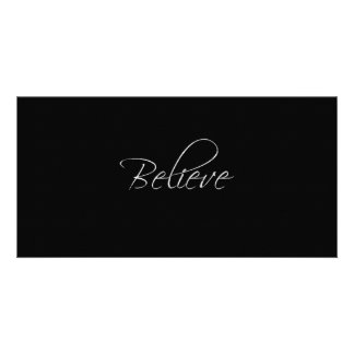 Believe Photo Card Template