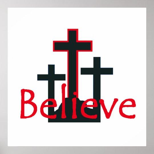 Believe POSTER Print