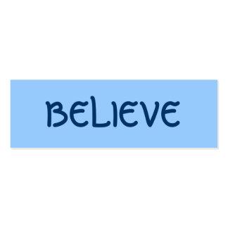 BELIEVE PROFILE CARD BUSINESS CARD TEMPLATES