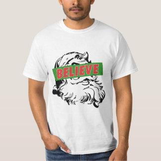 Believe Santa Claus T-Shirt
