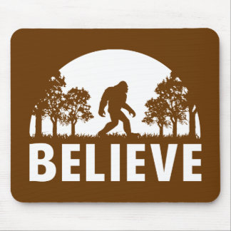 Believe Sasquatch Mouse Pad