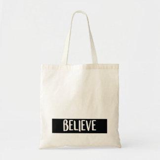 Believe - Shopping Bag