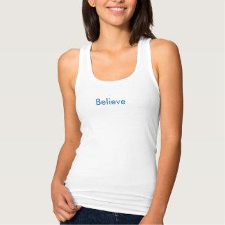 Believe Singlet