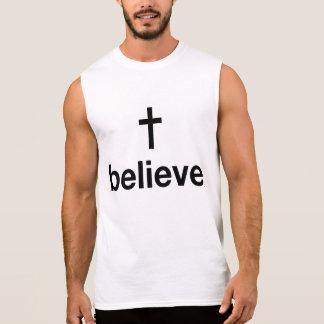 Believe Sleeveless Shirt