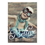 BELIEVE | The Magic of Christmas Photo Card 13 Cm X 18 Cm Invitation Card