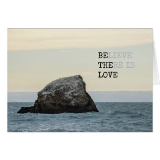 Believe There is Love Card
