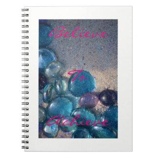 Believe to achieve notebook! notebook