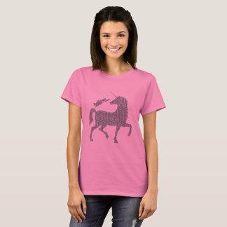 Believe Unicorn Fantasy Magical Horse T-Shirt
