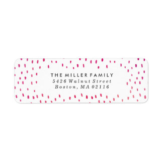 Believe | Watercolor Holiday Return Address Label