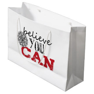 Believe you Can Large Gift Bag