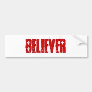 Believer BUMPERSTICKER Bumper Sticker