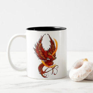 Believing in Magic Phoenix Mug