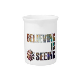Believing is Seeing Pitcher