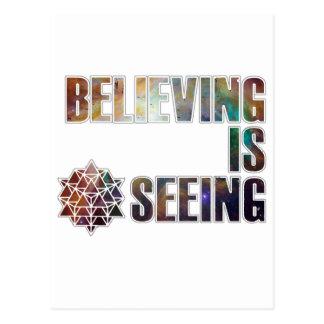Believing is Seeing Postcard