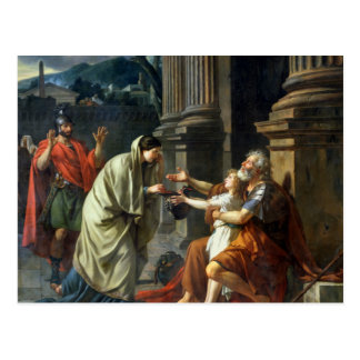 Belisarius Begging for Alms, 1781 Postcard