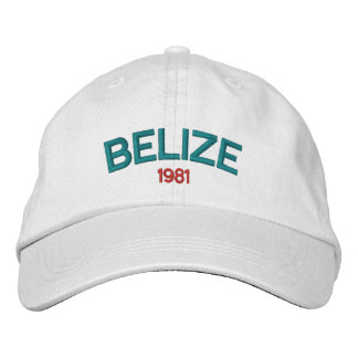 Belize 1981 Embroidered Hat
