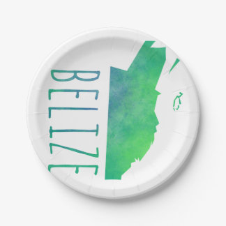 Belize 7 Inch Paper Plate