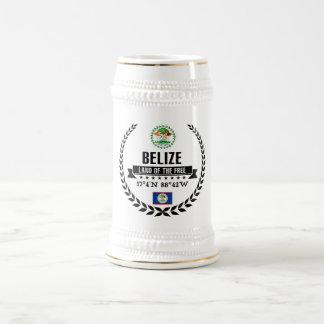 Belize Beer Stein