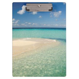 Belize, Caribbean Sea. Goff Caye, A Small Island Clipboard