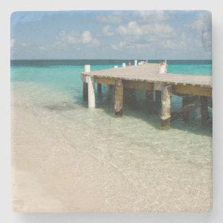 Belize, Caribbean Sea, Goff Caye. A Small Island Stone Coaster