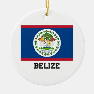 Belize Ceramic Ornament