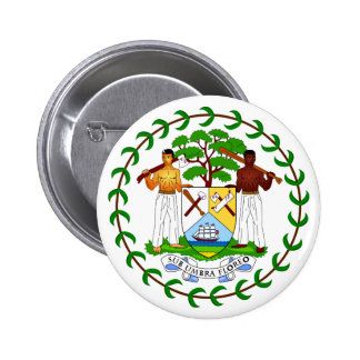 Belize Coat of Arms Button
