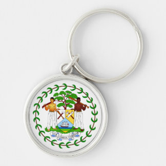 Belize Coat of Arms Keychain